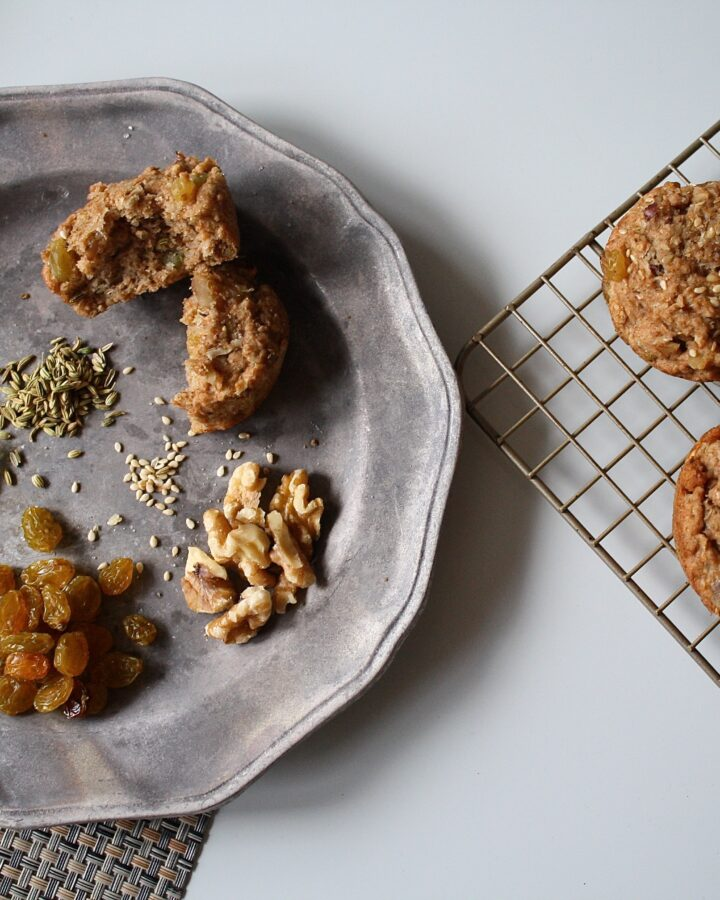 Whole-Wheat Fennel Muffins
