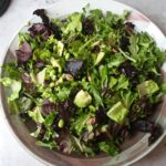Herbed Salad with Grapefruit Cardamom Vinaigrette