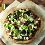 Gluten Free Green Goddess Pizza | Zestful Kitchen