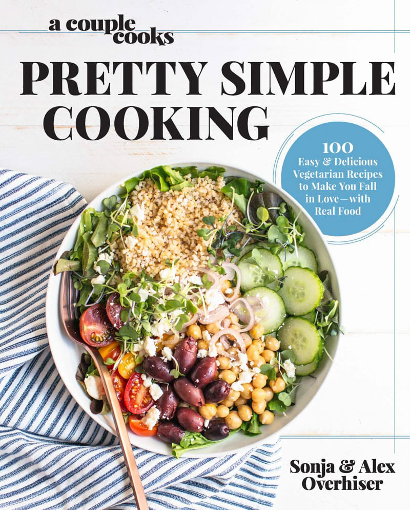 Zestful Kitchen 2017 Holiday Cookbook Gift Guide | Pretty Simple Cooking Cookbook