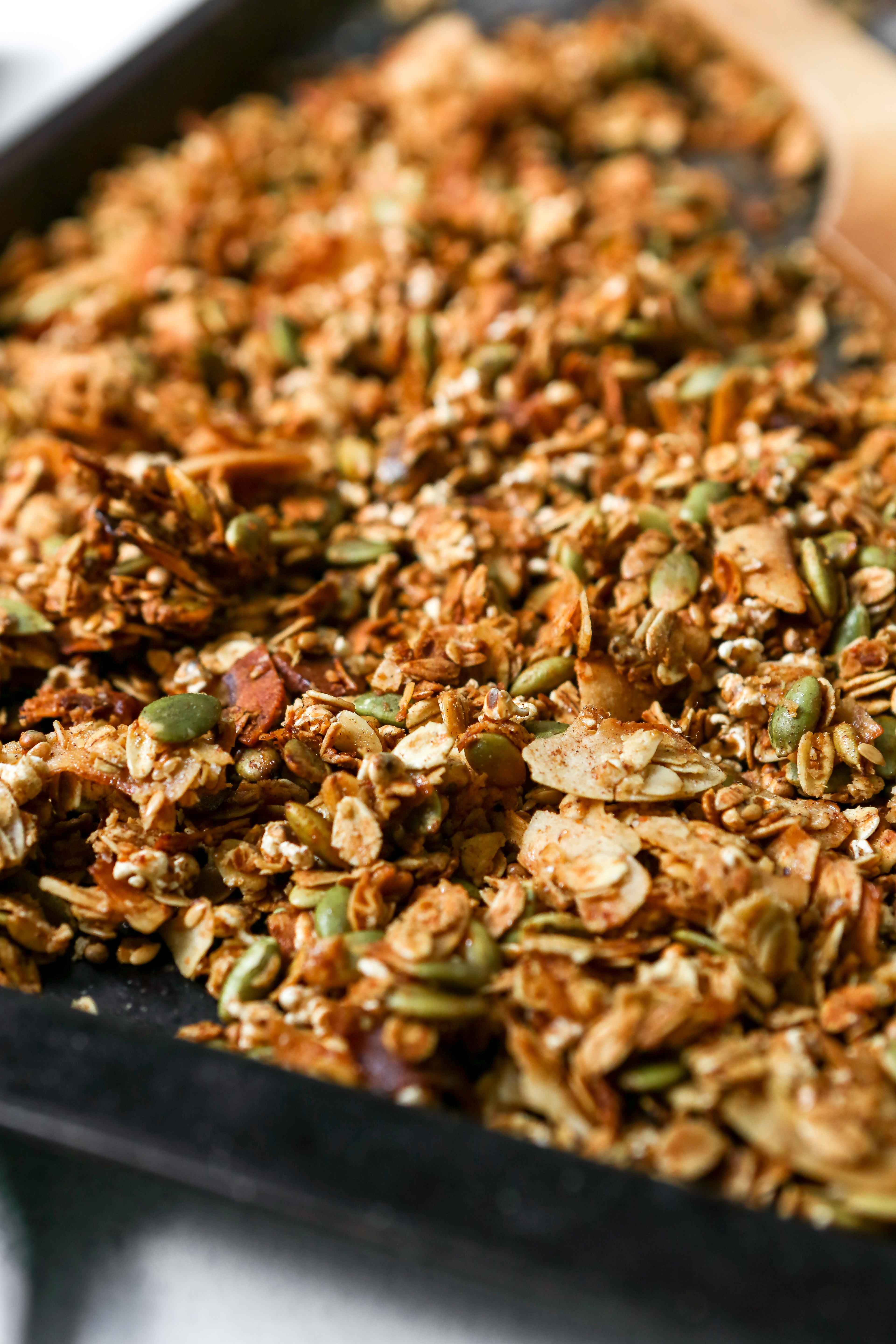 Homemade Healthy Granola Recipe With Popped Sorghum