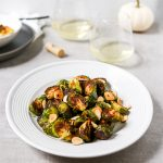 Roasted Garlicky Brussels Sprouts