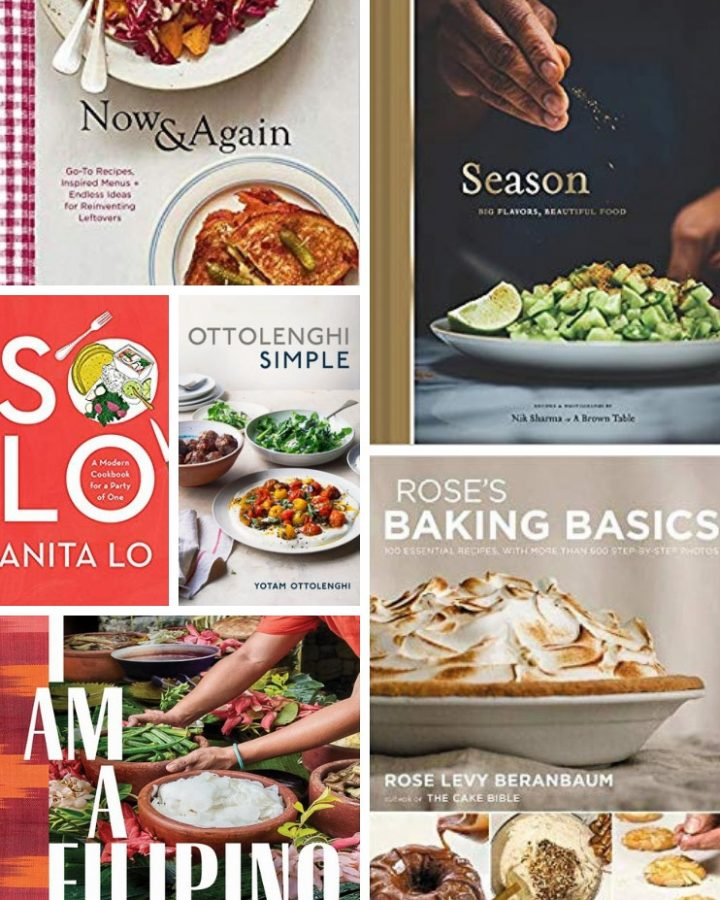 Collage of cookbook covers