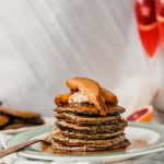 Gluten-Free Buttermilk Buckwheat Pancakes with Caramelized Pears