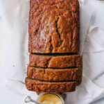 Healthy Olive Oil Banana Bread with Whole-Wheat Flour