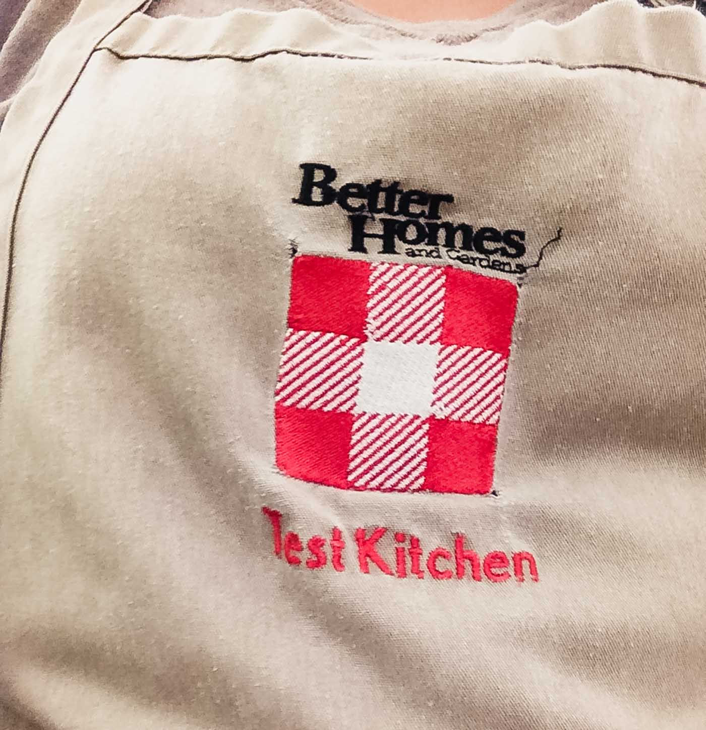 Photograph of a Better Homes & Gardens Apron