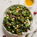 Kale & Cherry Salad with Brie
