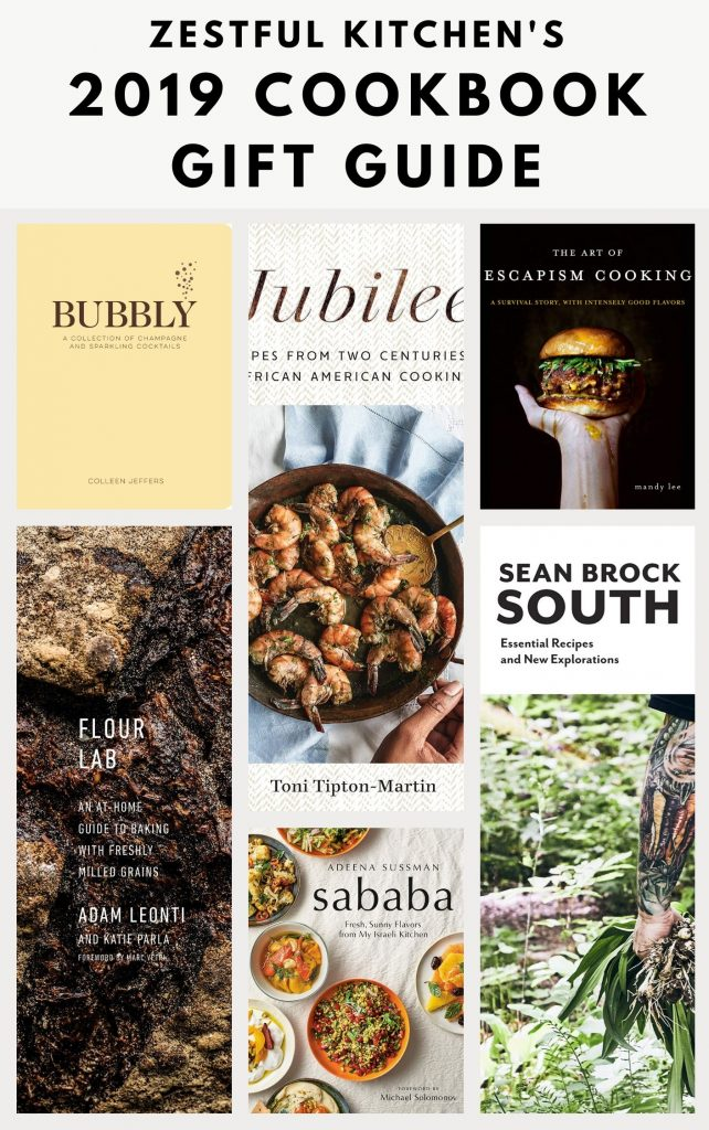 Collage of cookbook covers with a title overlay