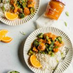 Better-For-You Instant Pot Orange Chicken & Broccoli