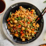 Vegan Fried Rice with Tofu