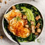 Egg and Avocado Breakfast Salad