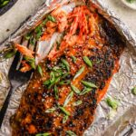 Sheet Pan Miso-Glazed Salmon
