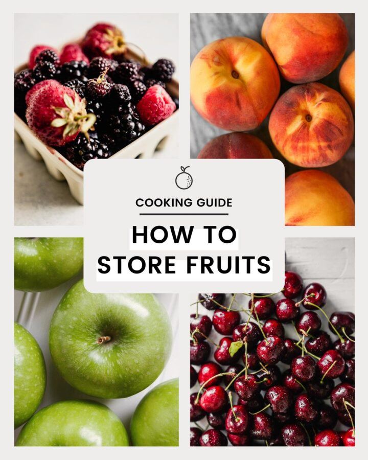 grid of fruit images with text overlay