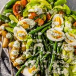 Butter Lettuce Salad with Veggies & Dill Ranch